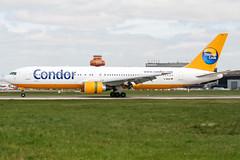 D-ABUA (PlanePixNase) Tags: aircraft airport planespotting haj eddv hannover langenhagen boeing 767300 767 b763 condor