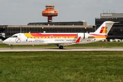 EC-JCM (PlanePixNase) Tags: aircraft airport planespotting haj eddv hannover langenhagen iberia airnostrum canadair 200 crj crj200 crj2
