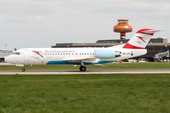 OE-LFG (PlanePixNase) Tags: aircraft airport planespotting haj eddv hannover langenhagen austrian arrows fokker 70 f70