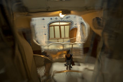 Casa Batlló Glass Distortion - Eixample, Barcelona, Catalonia, Spain (samueljsweet) Tags: photography spain europe catalonia barcelona architecture casa gaudí antoni modernisme batlló distortion eixample