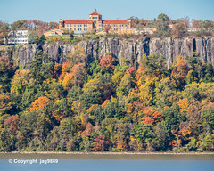 Saint Peter's College Satellite Campus in St. Michael's Villa on the Hudson River, Englewood Cliffs, New Jersey (jag9889) Tags: 2019 20191102 architecture autumn bergencounty building campus college colors englewoodcliffs fall foliage forest gardenstate house hudsonriver landscape nj newjersey newjerseysection outdoor pip palisades palisadesinterstatepark park river rock sky stpeterscollege tree usa unitedstates unitedstatesofamerica university water waterway jag9889