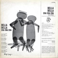 Della Della Cha Cha Cha - Back Coverr (epiclectic) Tags: 1961 dellareese backcover epiclectic vintage vinyl record album cover art retro music sleeve collection lp epiclecticcom
