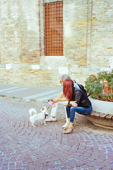 Walk the dog (titan3025) Tags: leica leicam6 m6 kodak ektar ektar100 italy 2019