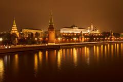 Kremlin Embankment (gubanov77) Tags: night city urban cityscape street moscow russia kremlin kremlinembankment moscowkremlin moscowphotography moskvariver capitalcity capital longexposure architecture building