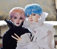 Jimin & Taehyung (nanidoss) Tags: distantmemory dollphotography bts btsdoll bjd bjdphotography balljointeddoll taehyung jimin