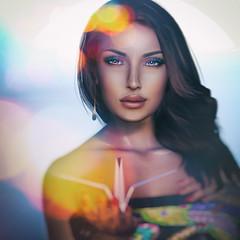 to be free, Choose Love (^::. Anaya Oneiro .::^) Tags: secondlife avatar virtualworlds free love portrait quotes albertcamus