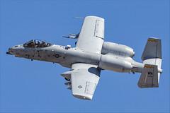 Fairchild Republic A-10C Thunderbolt II - 43 (NickJ 1972) Tags: redflag nellis air base airbase afb fairchild republic a10 thunderbolt ii warthog 780709 wa