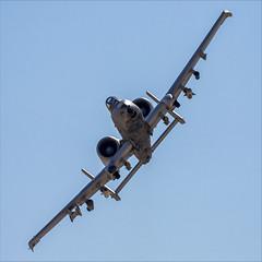 Fairchild Republic A-10C Thunderbolt II - 45 (NickJ 1972) Tags: redflag nellis air base airbase afb fairchild republic a10 thunderbolt ii warthog 800204 wa