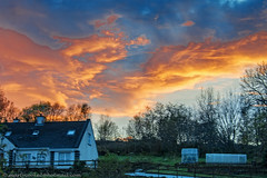 41/52 Red Sky At Night (Marty Cooke) Tags: sunset sunsets sky redskyatnight outdoor outside lovelyleitrim connaught connacht leitrim coleitrim countyleitrim northleitrim red