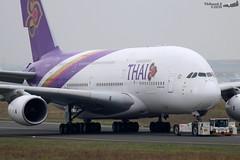 Airbus A380 -841 THAI AIRWAYS HS-TUA 087 Francfort octobre 2019 (Thibaud.S.) Tags: airbus a380 841 thai airways hstua 087 francfort octobre 2019