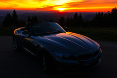 The last trip with my convertible (klausrxt) Tags: bmw cabrio sunset z4