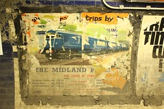 The Midland Pullman - The Train of Today, Yesterday... (Adam Fox - Plane and Rail photography) Tags: midland pullman the train today br british railways rail blue class 251 261 euston underground station uk trains