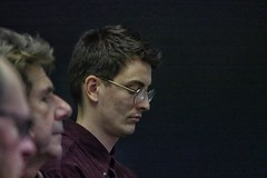de eerste toeschouwer (Gerard Stolk ( vers le toussaint)) Tags: sarakristin festivalknapsack knapsack delft expositieruimte 38cc expositieruimte38cc