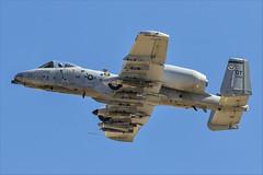 Fairchild Republic A-10C Thunderbolt II - 54 (NickJ 1972) Tags: redflag nellis air base airbase afb fairchild republic a10 thunderbolt ii warthog 800242 ot