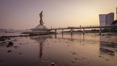 日落。觀音 (kevinho86) Tags: 169 ef1635f4lusm eosr wideangle reflection macao macau magichour lightshadow canon colour cityscapes city sunset 澳門