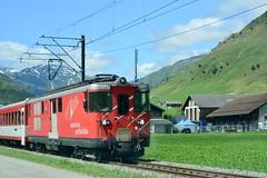 Switzerland 2019 – Matterhorn Gotthard Bahn (Michiel2005) Tags: bahn mgb matterhorngotthardbahn spoor loc lok locomotive locomotief engine 51 rails bergen zwitserland switzerland schweiz trein train