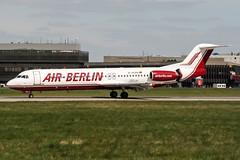 D-AGPH (PlanePixNase) Tags: aircraft airport planespotting haj eddv hannover langenhagen airberlin fokker f100 100