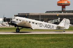 D-CDLH (PlanePixNase) Tags: aircraft airport planespotting haj eddv hannover langenhagen junkers ju52 lufthansa