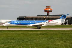 G-RJXC (PlanePixNase) Tags: aircraft airport planespotting haj eddv hannover langenhagen bmi british midland embraer 145 e145