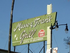 Musso & Frank Grill (ruruproductions) Tags: mussofrankgrill musso frank rooftop sign hollywood landmark restaurant classic vintage historic losangeles