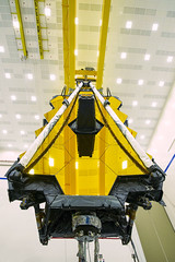The view from beneath (James Webb Space Telescope) Tags: jwst webb jameswebbspacetelescope telescope nasa hubble hubblessuccessor space bestof recentbestof