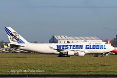 B747-46BCF N356KD WESTERN GLOBAL (shanairpic) Tags: jetairliner freighter b747 boeing747 jumbojet shannon westernglobal n356kd