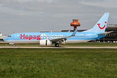 D-ATUH (PlanePixNase) Tags: aircraft airport planespotting haj eddv hannover langenhagen boeing 737800 737 b738 tui tuifly