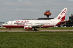 D-ADIG (PlanePixNase) Tags: aircraft airport planespotting haj eddv hannover langenhagen boeing 737300 b733 airberlin