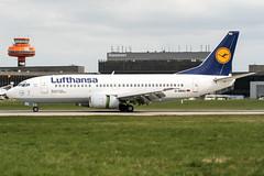 D-ABXU (PlanePixNase) Tags: aircraft airport planespotting haj eddv hannover langenhagen lufthansa 737 boeing 737300 b733
