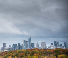 Toronto (alphacenturia) Tags: toronto skyline cloud autumn living fall view