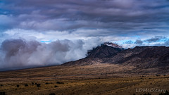 Clouds over Manzano Mountains (LDMcCleary) Tags: