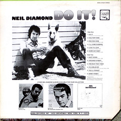Do It! - Back Cover (epiclectic) Tags: 1971 neildiamond backcover epiclectic vintage vinyl record album cover art retro music sleeve collection lp epiclecticcom