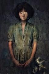 Portrait of Phoebe - The Last Goodbye (jimlaskowicz) Tags: jimlaskowicz artistic forlorn impressionistic portrait art tale story surreal painterly mysterious dark