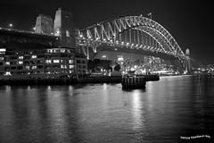 Harbour bridge (pniselba) Tags: australia sidney sydney bay bahia harbour bridge puente harbourbridge