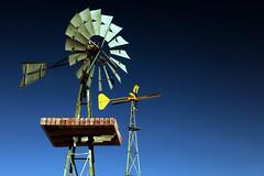 """the windmills of your mind"" (oldogs) Tags: windmill blades limon limonheritagemuseum"