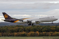 N607UP - Boeing 747-8F - United Parcel Service (UPS) (MikeSierraPhotography) Tags: air airport cgn cgneddk cologne country deutschland germany köln spotting town