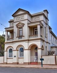 Strong room. (John from Brisbane) Tags: oldbankbuilding bankbuilding grenfellnsw grenfell