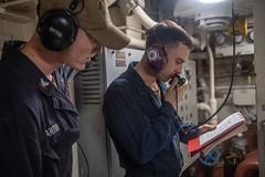 191107-N-HD110-1094 (U.S. Pacific Fleet) Tags: usnavy unitedstatesnavy ussharpersferry forgedbythesea sailors lsd49 amphibiousdocklandingship lsd harpersferryclass underway ussboxeramphibiousreadygroup arg us7thfleet deployment pacificocean