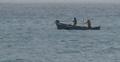 par tous les temps ... (b.four) Tags: fisherman pêcheur pescatore barque boat barca chalut trawl retedatraino cagnessurmer alpesmaritimes pluie rain pioggia vent wind vento