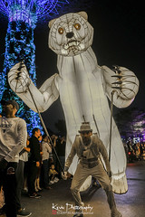 FXT29152 (kevinegng) Tags: voilah2019 gueuledours thebearsmouth singapore frenchsingaporefestival streetperformance performance danceperformance dance puppetbears puppets gardensbythebay frenchperformance nightphotography
