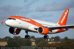 G-UZLF   Airbus A320-251n   easyJet (james.ronayne) Tags: guzlf airbus a320251n easyjet a20n ezy u2 9103 aeroplane airplane plane aircraft luton ltn eggw canon 100400mm raw stunning gorgeous beautiful sharp sunny bright 5ds airliner airline passenger pax