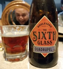 The Sixth Glass (and Nate) (Pak T) Tags: belgian quadrupel boulevardbrewing quad bottle sixth glass alcohol beerporn beverage drink samsunggalaxys5 tmobile untappd