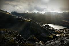Dark and dangerous (PentlandPirate of the North) Tags: dinorwic slate quarry snowdonia sunbeams northwales gwynedd dinorwig ruins derelict