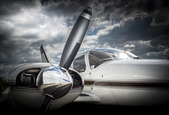 PROP (Dave GRR) Tags: small plane airshow canada prop propeller engine twin aerophotography planes olympus