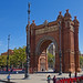 Arc de Triomf - Barcelona, Spain - Oct 2019