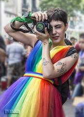 Marcha del Orgullo Gay. (Marina-Inamar) Tags: fotografa persona marchadelorgullogay argentina buenosaires colorida tatuajes challengegamewinner