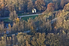 Chapel In The Woods (Aerial Photography) Tags: by la ndb 09112010 5d228917 bavaria bayern braun buchaerlbach bäume deutschland farbe feldkapelle fotoklausleidorfwwwleidorfde fotoklausleidorfwwwleidorfaerialcom germany grau grün herbst herbstbäume landscapeandnature landschaft landschaftnatur laubbaum luftaufnahme luftbild p2 park vatersdorf weis aerial autumn autumntrees brown chapelonafield color colour deciduoustree foliagetree green grey landscape landscapenature leaftree nature trees verde white buchamerlbachlkrlandshut bayernbavaria deutschlandgermany