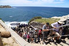 IMG_9854 (gervo1865_2 - LJ Gervasoni) Tags: photographerljgervasoni sculpture by sea bondi tamarama 2019 art festival event coast coastal walk cliffs water sand sky sunny day spring