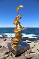 IMG_0077 (gervo1865_2 - LJ Gervasoni) Tags: sculpture by sea bondi tamarama 2019 photographerljgervasoni art festival event coast coastal walk cliffs water sand sky sunny day spring