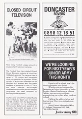 Doncaster Rovers vs Gillingham - 1989 - Page 8 (The Sky Strikers) Tags: doncaster rovers gillingham belle vue ground barclays league division four official programme 60p
